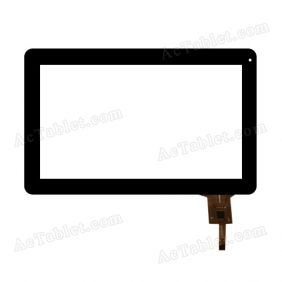 JC0052-A Digitizer Glass Touch Screen Replacement for 10.1 Inch MID Tablet PC