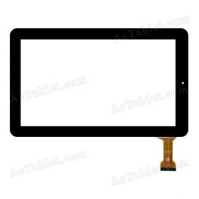 CLV12012A JT-14/12F Digitizer Glass Touch Screen Replacement for 11.6 Inch MID Tablet PC