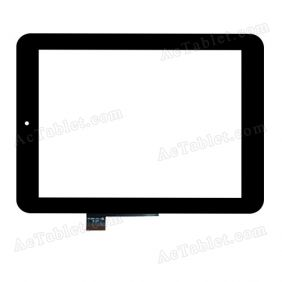 FPC.0800-0112-A Digitizer Glass Touch Screen Replacement for 8 Inch MID Tablet PC