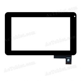 FPC.0700-0123-A Digitizer Glass Touch Screen Replacement for 7 Inch MID Tablet PC