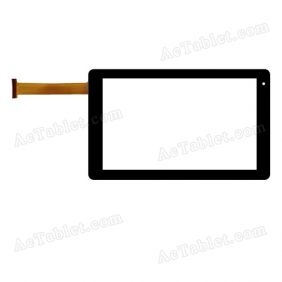 VTCP090A25-FPC-2.0 Digitizer Glass Touch Screen Replacement for 9 Inch MID Tablet PC
