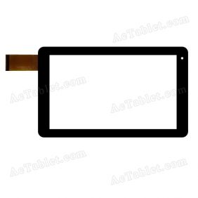VTCP090A25-FPC-1.0 Digitizer Glass Touch Screen Replacement for 9 Inch MID Tablet PC