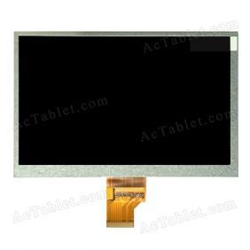 TM070DFH01 LCD Display HD Screen for 7 Inch Android Tablet PC 1024x600px 40Pin