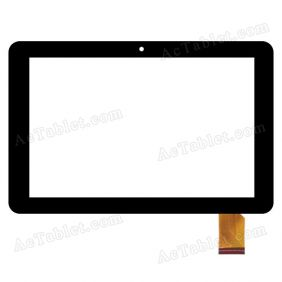F-WGJ10341-V2A Digitizer Glass Touch Screen Replacement for 10.1 Inch MID Tablet PC