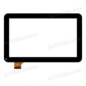 PB101A2595 FHX Digitizer Glass Touch Screen Replacement for 10.1 Inch MID Tablet PC