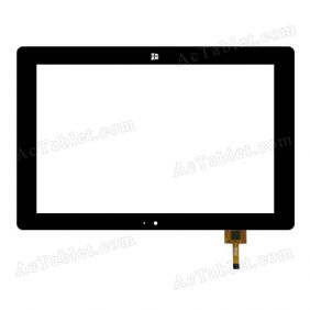 PB101JG2084 Digitizer Glass Touch Screen Replacement for 10.1 Inch MID Tablet PC
