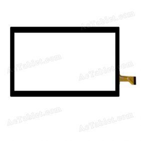 GT90D9 FHX Digitizer Glass Touch Screen Replacement for 9 Inch MID Tablet PC