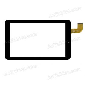 HK80DR2456-V01 Digitizer Glass Touch Screen Replacement for 8 Inch MID Tablet PC