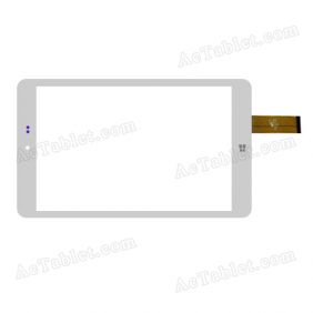 PB80JG2296-R1 Digitizer Glass Touch Screen Replacement for 8 Inch MID Tablet PC