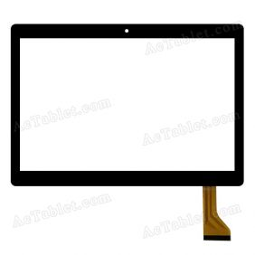 MJK-0411-FPC Digitizer Glass Touch Screen Replacement for 10.1 Inch MID Tablet PC