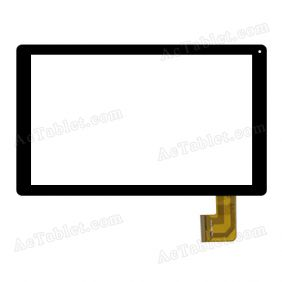 10112-0B5505D Digitizer Glass Touch Screen Replacement for 10.1 Inch MID Tablet PC