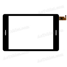 F-WGJ78100-V1B Digitizer Glass Touch Screen Replacement for 8 Inch MID Tablet PC
