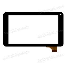 JZ-070-B117B-FPCV1.0 Digitizer Glass Touch Screen Replacement for 7 Inch MID Tablet PC