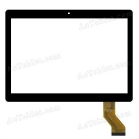 MGLCTP-10741-10617FPC Digitizer Glass Touch Screen Replacement for 10.1 Inch MID Tablet PC
