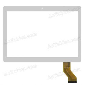 MTCTP-10617 2015.05.05 RX18*TX28 Digitizer Glass Touch Screen Replacement for 10.1 Inch MID Tablet PC