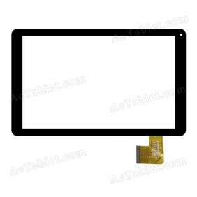 XN1332V1 Digitizer Glass Touch Screen Replacement for 10.1 Inch MID Tablet PC