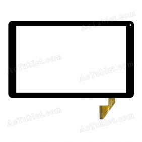 Digitizer Touch Screen Replacement for GoClever Quantum 2 1010 Lite Quad Core 10.1 Inch Tablet PC