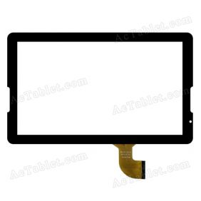 MGLCTP-10733 Digitizer Glass Touch Screen Replacement for 10.6 Inch MID Tablet PC