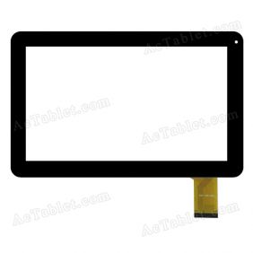 FHF-100-023 Digitizer Glass Touch Screen Replacement for 10.1 Inch MID Tablet PC
