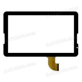 FHF106002 Digitizer Glass Touch Screen Replacement for 10.6 Inch MID Tablet PC