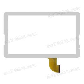 Digitizer Touch Screen Replacement for Primux UP Quad Core 10.6 Inch Tablet PC