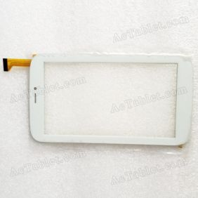 Z7Z287-D-V2.0 Digitizer Glass Touch Screen Replacement for 7 Inch MID Tablet PC
