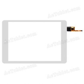 078090-01A-V1 Digitizer Glass Touch Screen Replacement for 7.9 Inch MID Tablet PC