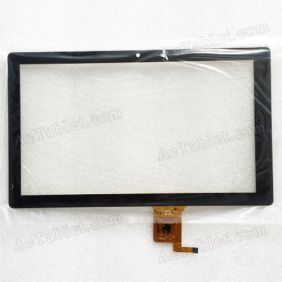 YTG-C10039-F1 V1.0 Digitizer Glass Touch Screen Replacement for 10.1 Inch MID Tablet PC