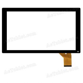 RS-MX101-V3.0 Digitizer Glass Touch Screen Replacement for 10.1 Inch MID Tablet PC