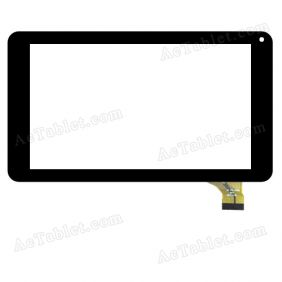 MT CTP-70551 Digitizer Glass Touch Screen Replacement for 7 Inch MID Tablet PC