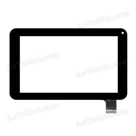 NJG070133AEG0B-V1 Digitizer Glass Touch Screen Replacement for 7 Inch MID Tablet PC