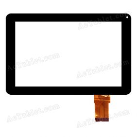 SG5825-FPC-V1-1 Digitizer Glass Touch Screen Replacement for 9 Inch MID Tablet PC