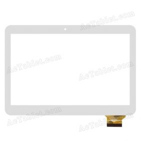 MGLCTP-90713A Digitizer Glass Touch Screen Replacement for 10.1 Inch MID Tablet PC
