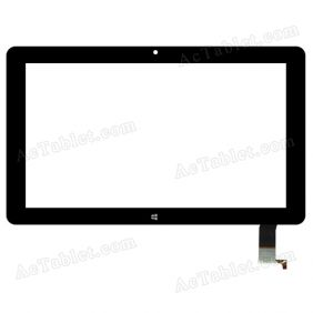 SG8214-FPC_V1-1 Digitizer Glass Touch Screen Replacement for 11.6 Inch MID Tablet PC