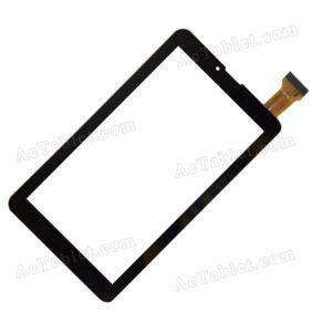 FX-136-V1.0 Digitizer Glass Touch Screen Replacement for 7 Inch MID Tablet PC
