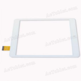 F-WGJ78112-V1 Digitizer Glass Touch Screen Replacement for 7.9 Inch MID Tablet PC