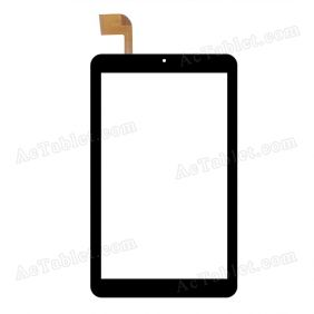 DXP2-0316-080B Digitizer Glass Touch Screen Replacement for 8 Inch MID Tablet PC