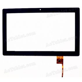 QSD E-C10047-02 Digitizer Glass Touch Screen Replacement for 10.1 Inch MID Tablet PC