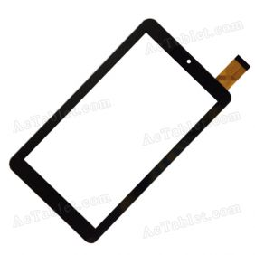 YTG-C70034-F3 V1.0 Digitizer Glass Touch Screen Replacement for 7 Inch MID Tablet PC
