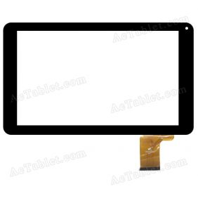 PB90A2592 Digitizer Glass Touch Screen Replacement for 9 Inch MID Tablet PC