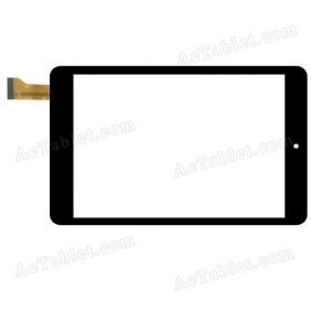 YJ213FPC-V0 Digitizer Glass Touch Screen Replacement for 7.9 Inch MID Tablet PC