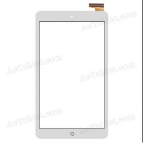 FPCA-80A22-V02 Digitizer Glass Touch Screen Replacement for 8 Inch MID Tablet PC