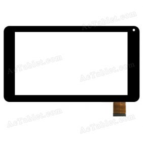 CG70267A0 Digitizer Glass Touch Screen Replacement for 7 Inch MID Tablet PC