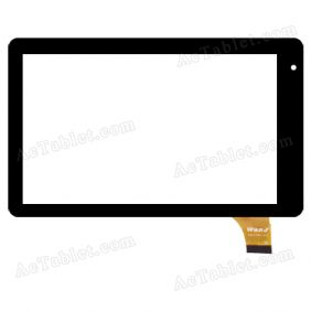 RJ916-FPC-V1.0 Digitizer Glass Touch Screen Replacement for 7 Inch MID Tablet PC