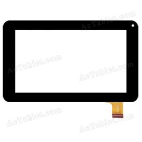 PO31FN10685A Digitizer Glass Touch Screen Replacement for 7 Inch MID Tablet PC