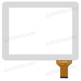 YTG-P97002-F17 V1.0 Digitizer Glass Touch Screen Replacement for 9.7 Inch MID Tablet PC