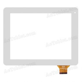 YTG-P97010-F4 V1.0 Digitizer Glass Touch Screen Replacement for 9.7 Inch MID Tablet PC