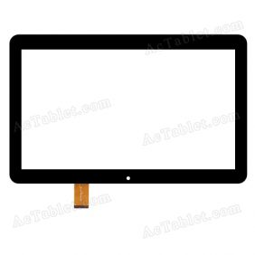 YLD-CEGA566-FPC-A0 Digitizer Glass Touch Screen Replacement for 10.1 Inch MID Tablet PC