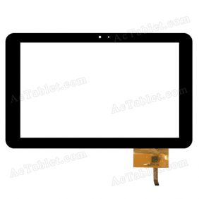 QSD 702-10089-03 Digitizer Glass Touch Screen Replacement for 10.1 Inch MID Tablet PC