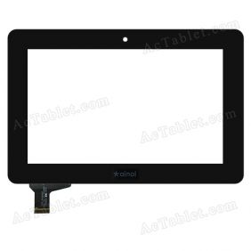 C185117A1-PG FPC6690DR Digitizer Glass Touch Screen Replacement for 7 Inch MID Tablet PC